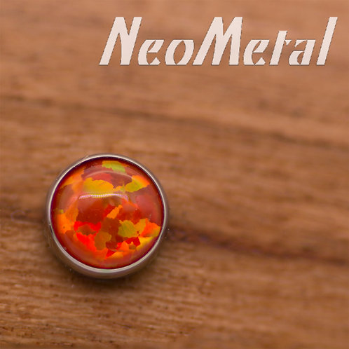 NeoMetal 4mm Opal Ends
