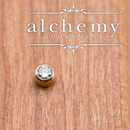 Alchemy Adornment Bezel Set 2mm Swarovski Crystal