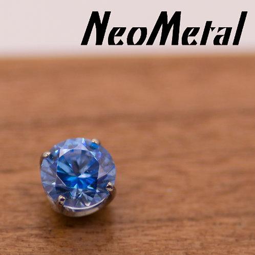NeoMetal 3mm Prong Set Swarovski Crystal Ends