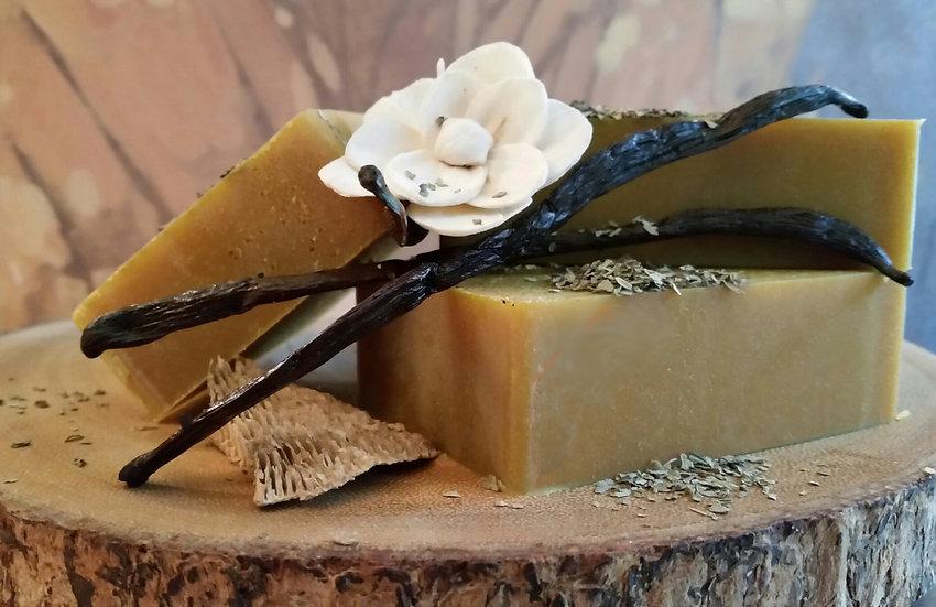 Shea Butter-Madagascar Vanilla Sweet Basil