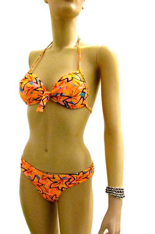 Paixão no. 172 - Colorful Printed Brazilian Bikini