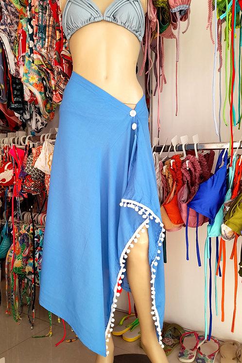 Multifunctional Beach  Skirt Towels in Blue