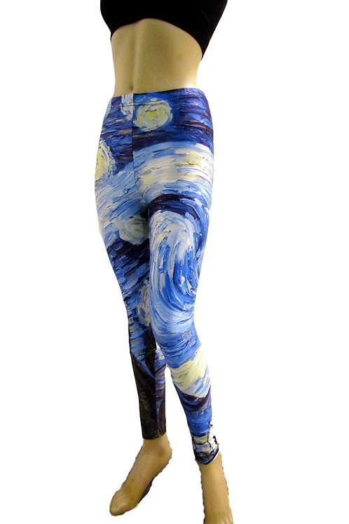 leggings Ativas de Vincent Van Gogh - Paixao 13