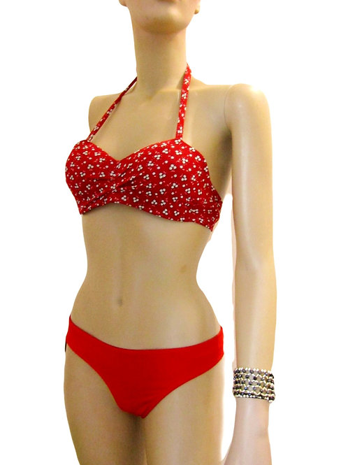 Paixão no. 59 - Cute Badeau Brazilian Bikini in Red