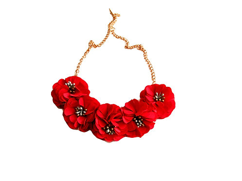 Flower Necklace For Women Summer Jewelry- Paixao Flower