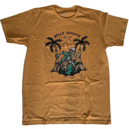 Men's T-Shirt Hallo Summer Short Sleeves- Paixao no.12