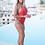 Thumbnail: Glossy Brazilian Swimsuit - Paixão no. 206