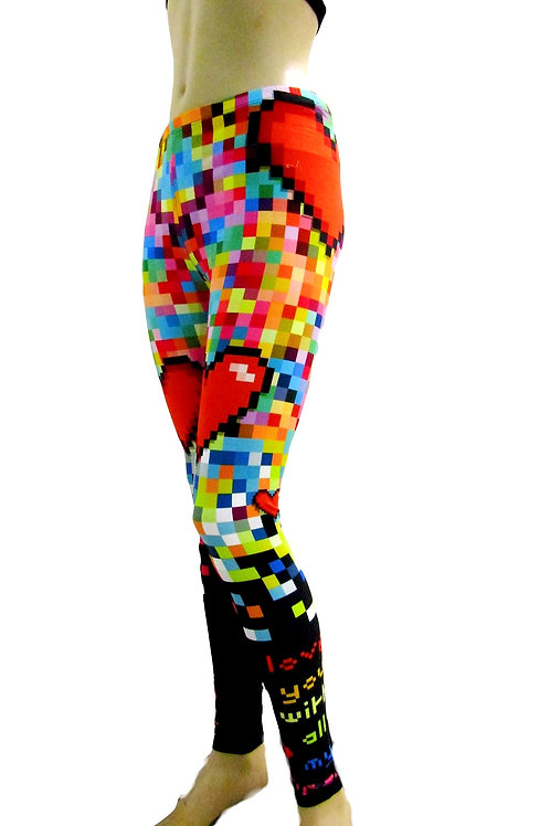Lego Love Leggings Active - Paixao 11