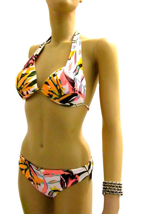 Paixão no. 257 - Brazilian Bikini with tropical print