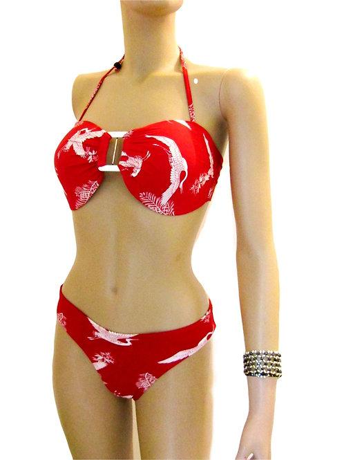 Paixão no. 53 - Brazilian Bikini with Plus Size Bra