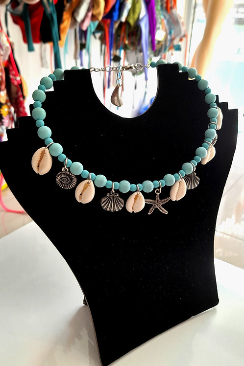 Handmade Beach Necklace with shell