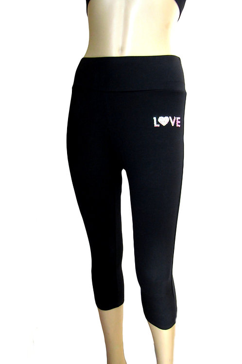 Short Leggings in Black - Paixao 6