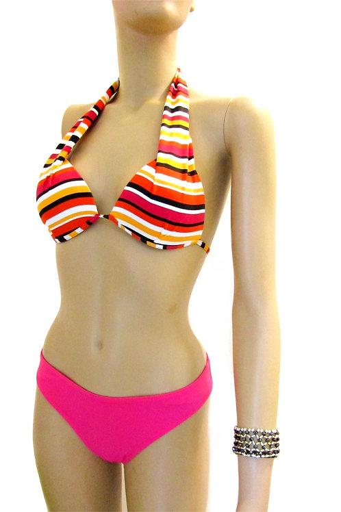 Paixão no. 105 - Brazilian Bikini with Striped pattern