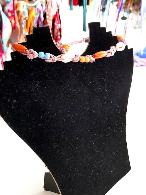 Rustical Hand Made Necklace