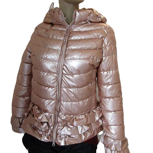 Rose Gloss Shine  Winter Down Jacket