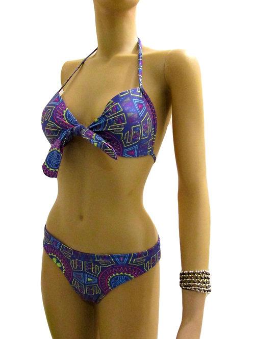 Paixão no. 70 - Lila Hipster Printed Bikini