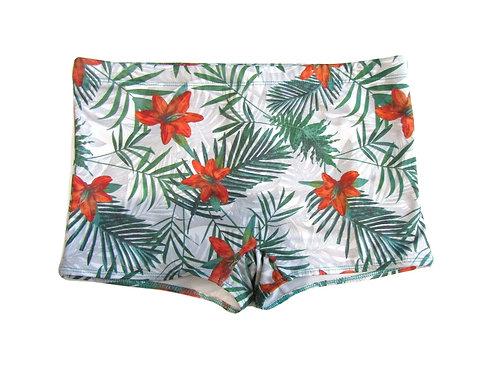 Brazilian tropical men's swim short trunk - Sunga Paixão no. 5
