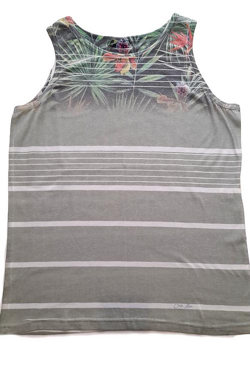 Men's T-Shirt with tropical print - Paixao no. 4