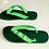 Thumbnail: Green Havaianas - Hand Finished
