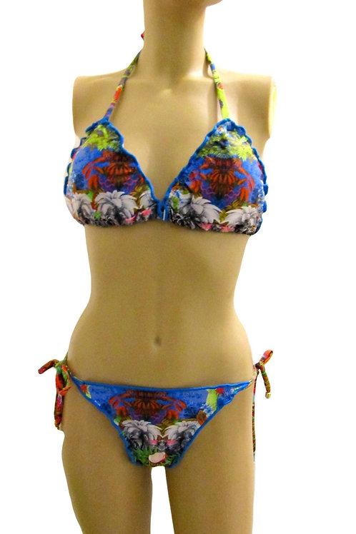 Oceanic under Water Printed Brazilian Bikini - Paixão no. 308