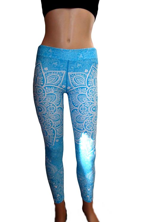 Mandala Printed Leggings  - Paixao 6
