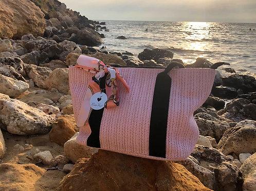 Straw Summer Beach Bag - Paixão Bag no. 1