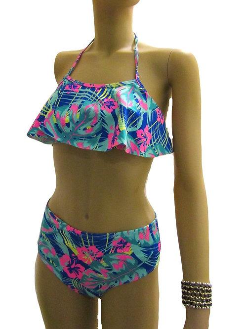 Paixão no. 359 - High Waist and Fluffy Top Bikini