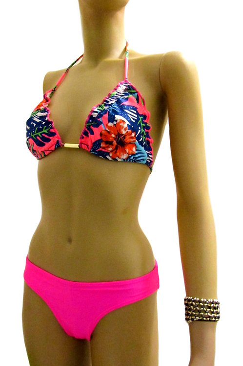 Paixão no. 153 - Pink Bright colored Brazilian Bikini