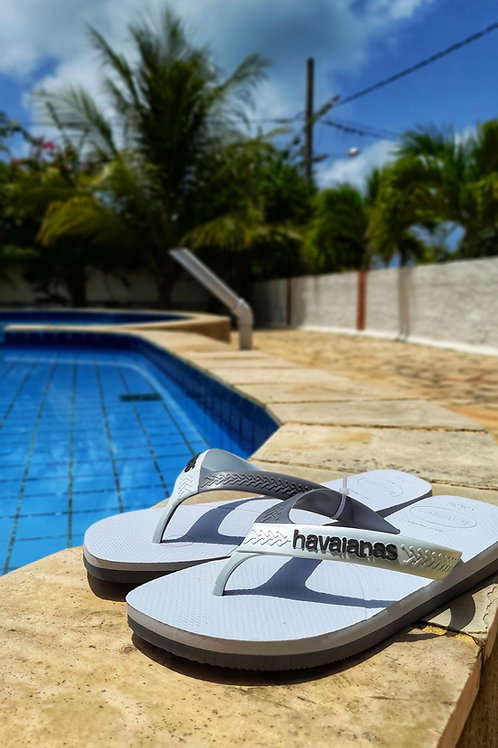 White Havaianas Men's  Flip Flop