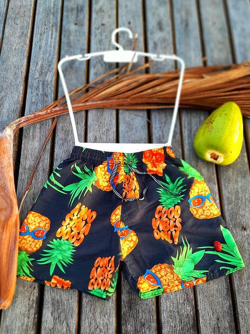 Shorts de praia masculino - Paixão no. 47