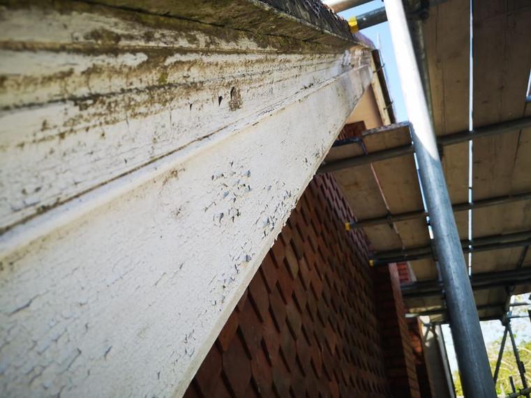 Fascia & soffit restoration.