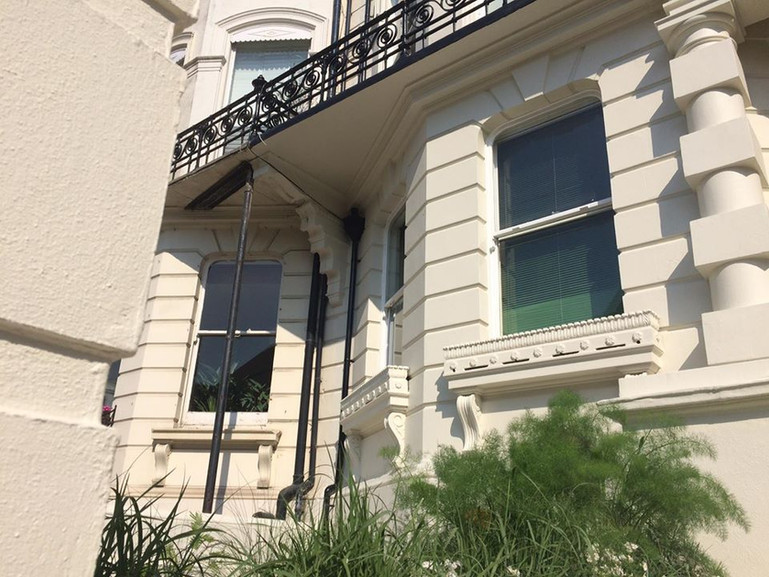 Dryonic exterior painting Brighton