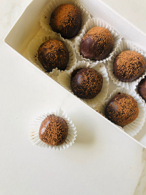 cake truffles- $20