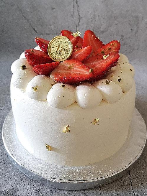 Asian style layered sponge cake