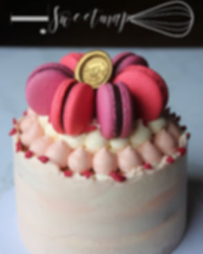 #throwback _birthday cake with fresh str