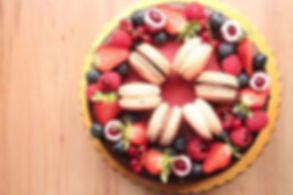 Summer berries mousse cake_._._._#tsweet