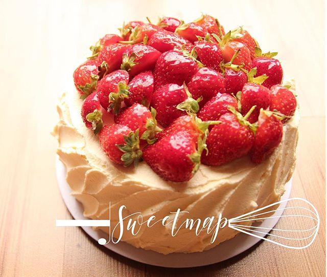 #throwback _Fresh Strawberry birthday ca