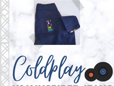 HOW I MADE COLDPLAY X & Y INSPIRED JEANS
