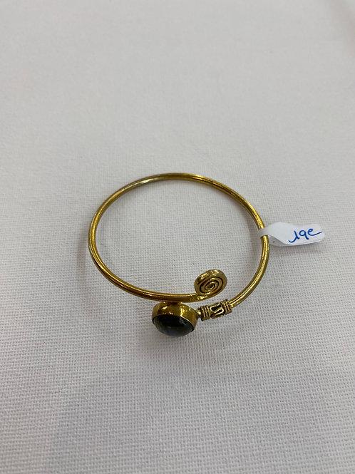 Bracelet en Labradorite et Laiton