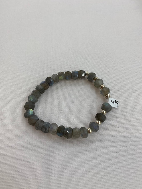 Bracelet en Labradorite et Argent 925