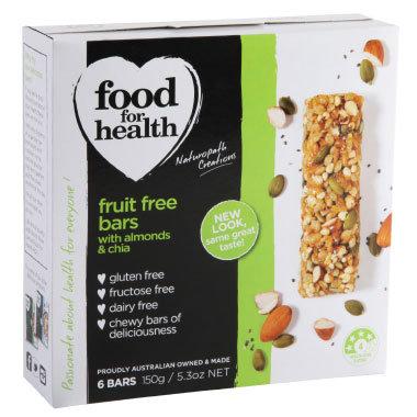 fruit free bars