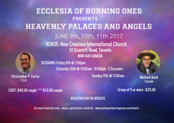 HEAVENLY PALACES AND ANGELS