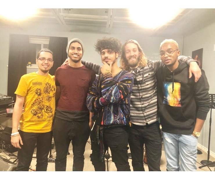 5 young men