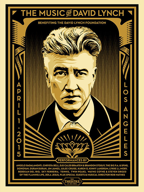 David Lynch 2015 61 x 46 cm