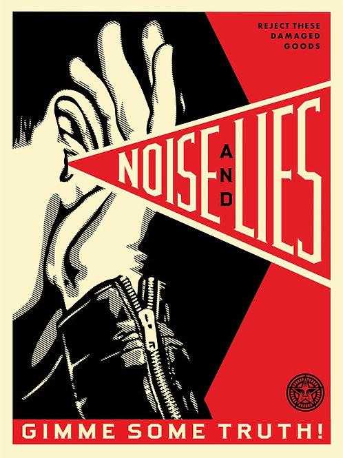 Noise Lies Red 61 x 46 cm