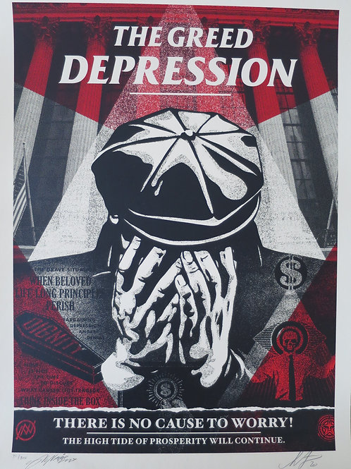 The Greed Depression 2020