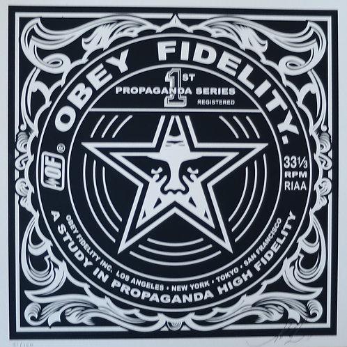 Obey Fidelity 2011, 31 x 31 cm