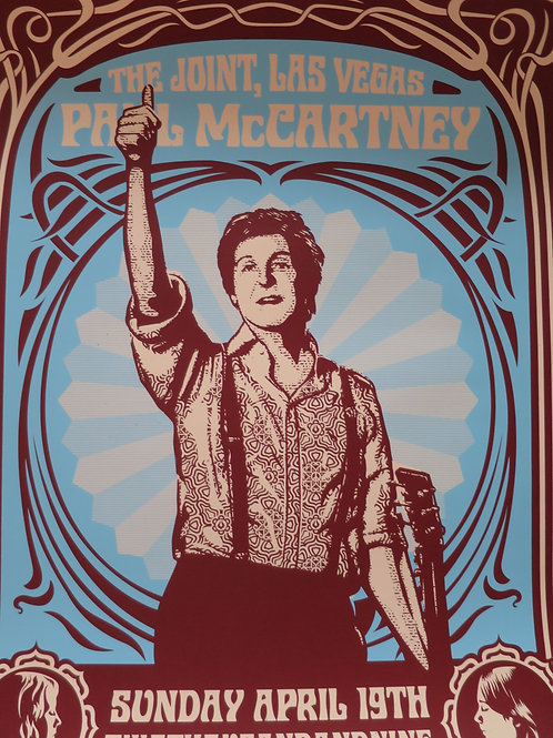 Paul McCartney Change Begins 2009 61 x 46 cm