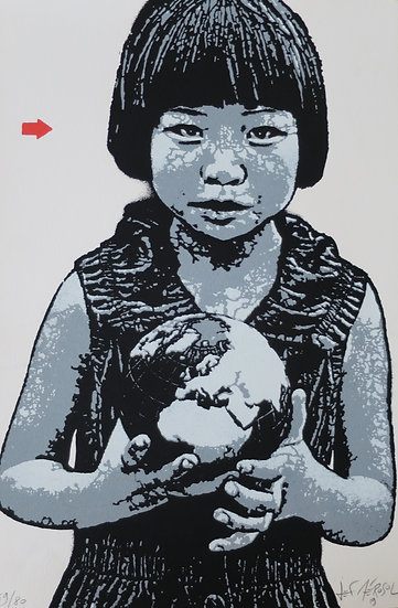Jef Aerosol - This world is (y)our world, 2019