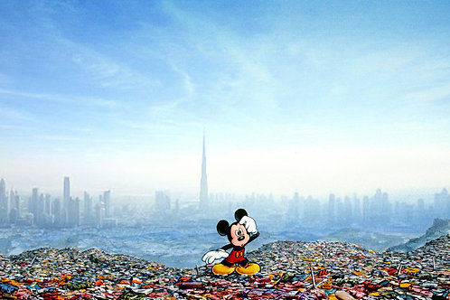 Dubai Landfill Mickey 2016 51 x 38 cm